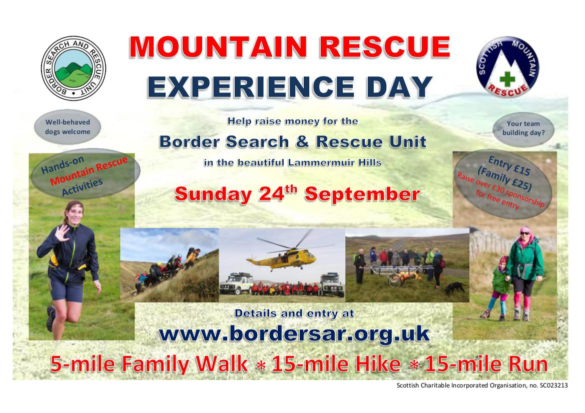 BSARU Mountain Rescue Experience Day 2017
