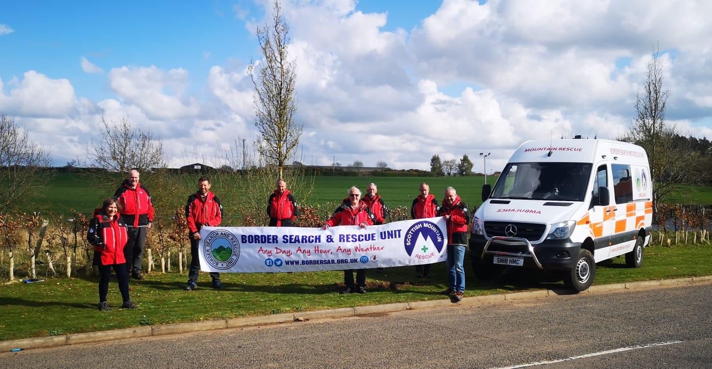 HOME SWEET HOME – historic new move for Borders Search and Rescue Unit.